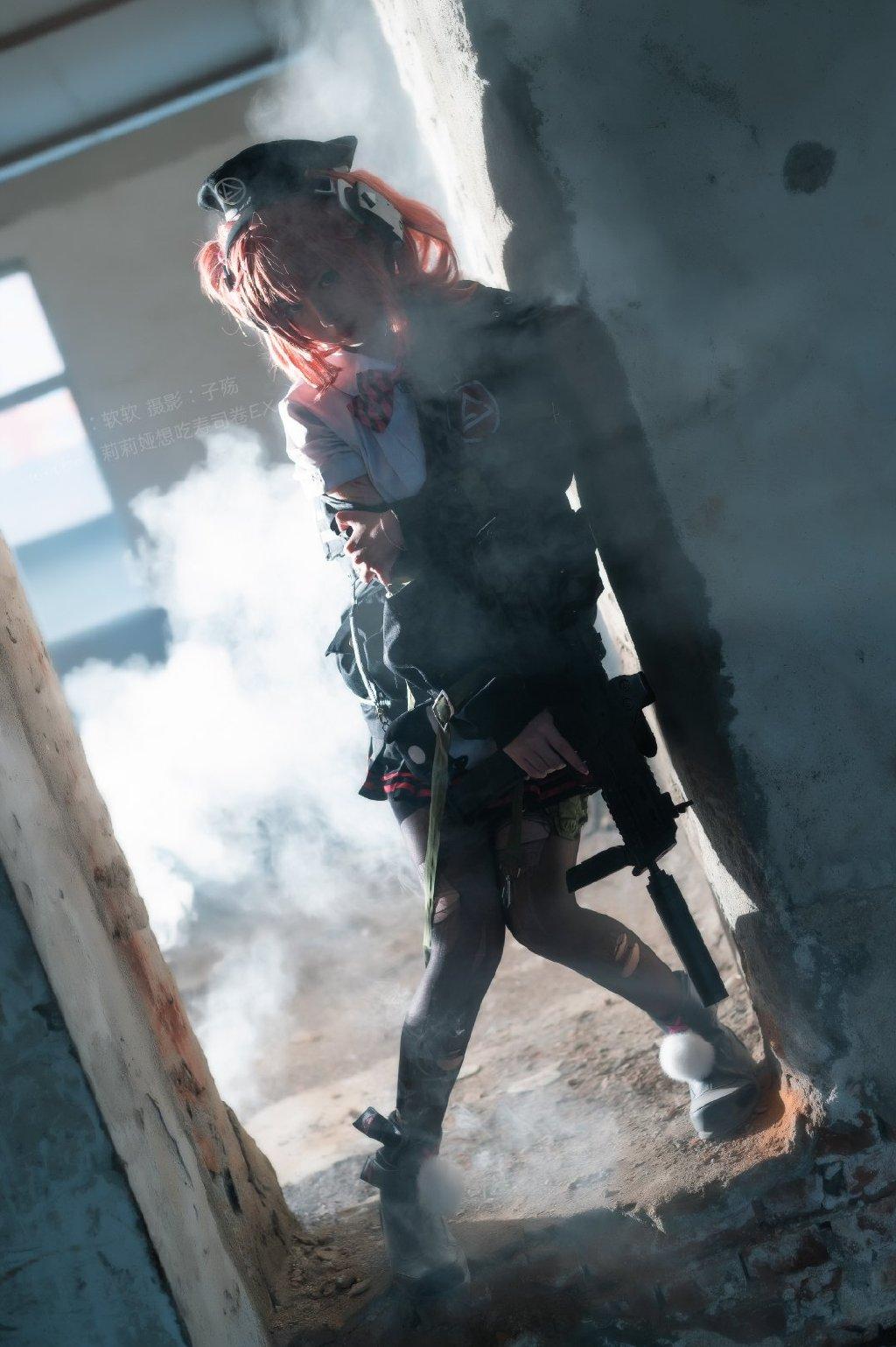 [COS]少女前线 MP7 @软软 「要吃我的糖吗?不过我先声明,这可是酸的哦…酸的哦!」 COSPLAY-第7张