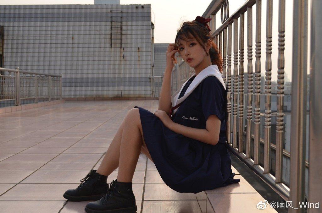 [JK制服正片]白雪姬 jk日常 小姐姐 时尚-第8张
