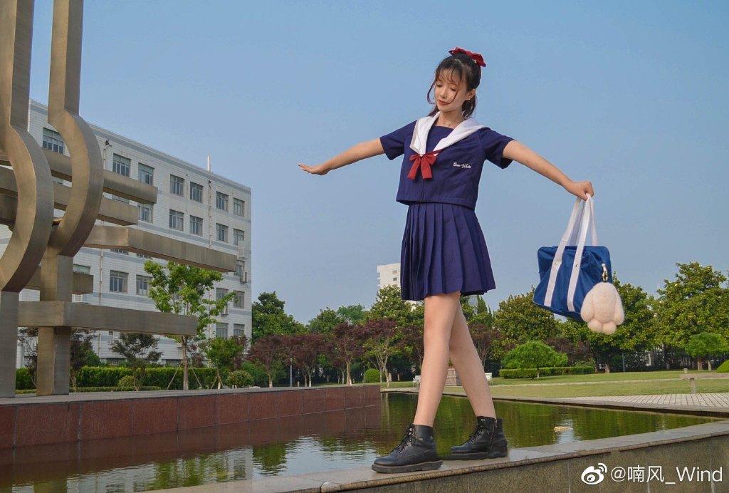 [JK制服正片]白雪姬 jk日常 小姐姐 时尚-第6张