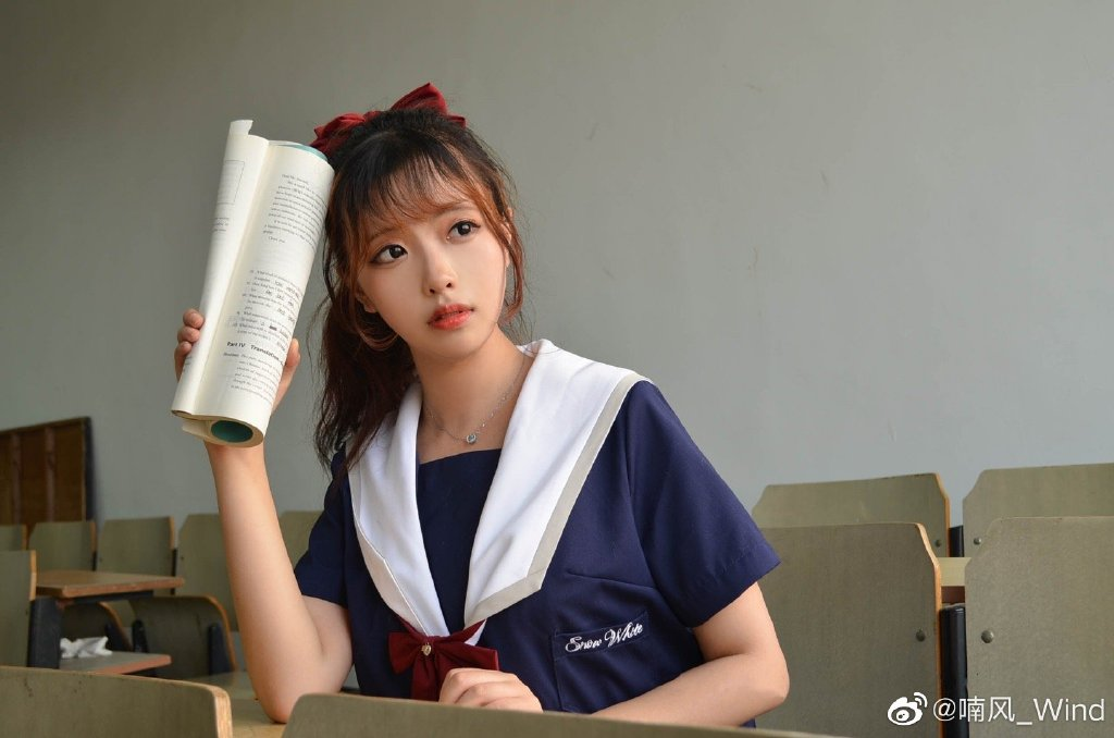[JK制服正片]白雪姬 jk日常 小姐姐 时尚-第9张
