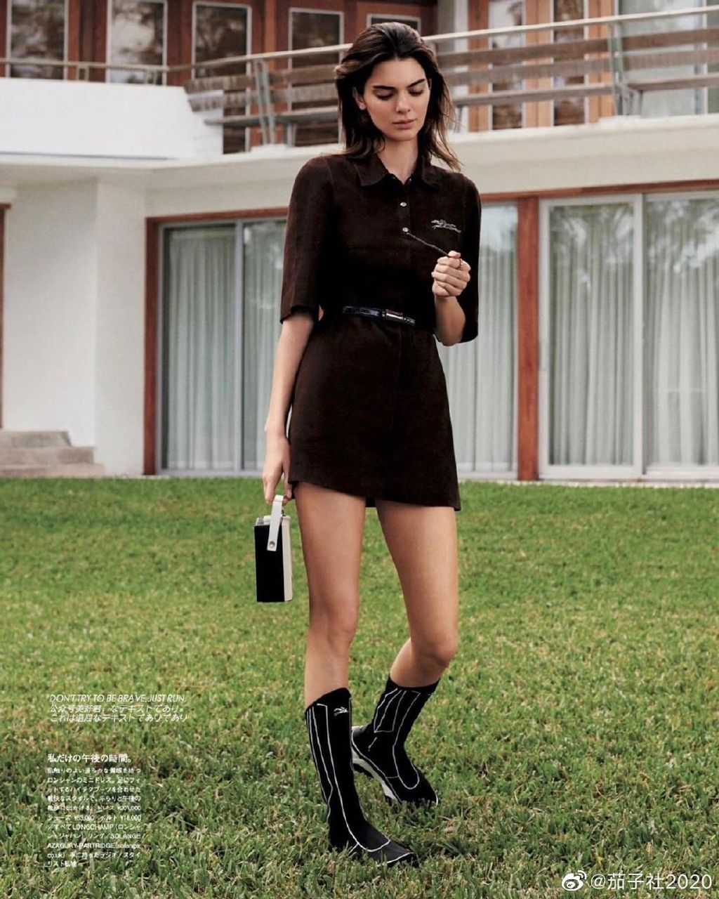 金小妹 Kendall Jenner :前凸后翘瘦有瘦的性感