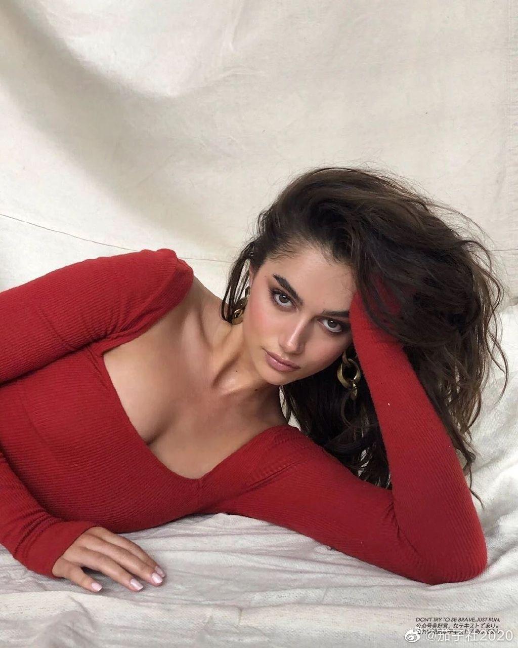 模特Maia Cotton:来自新西兰的非凡身材