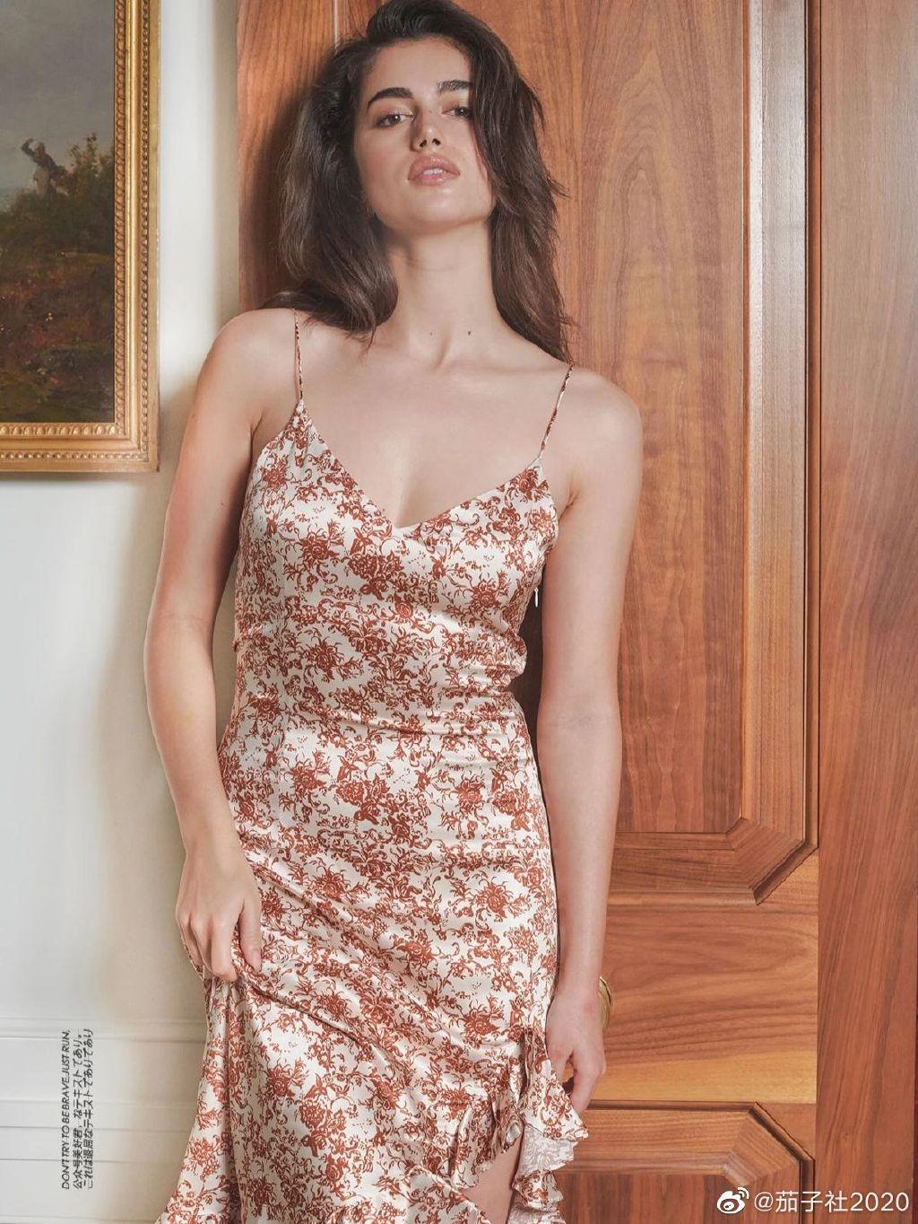 模特Maia Cotton:来自新西兰的非凡身材 男人文娱 热图13