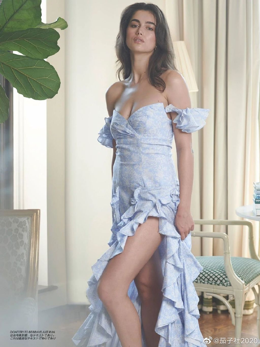 模特Maia Cotton:来自新西兰的非凡身材 男人文娱 热图12