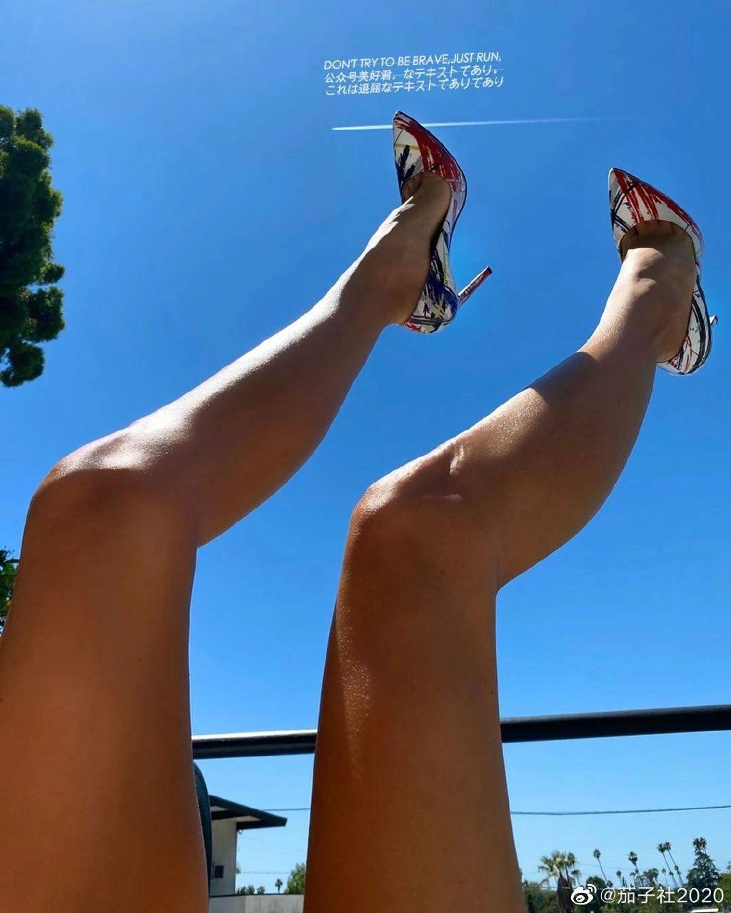 ELEN DALI:180CM职业模特,腿长晃得我眼花