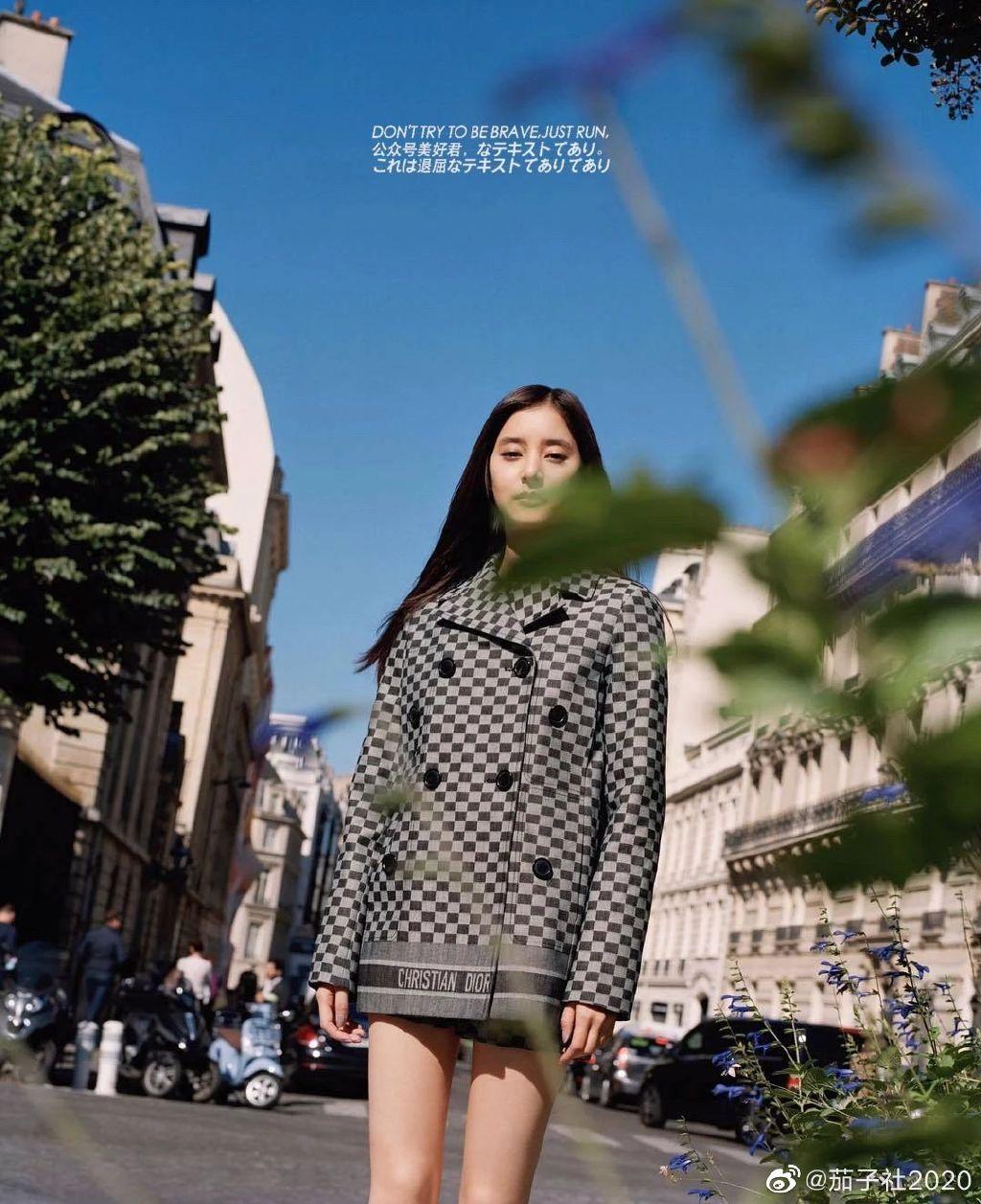 日式清新新木優子:这双大长腿和美背简直了