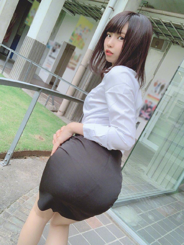 穿紧身裙的日本美女Enako你喜欢吗? 福利吧 第1张