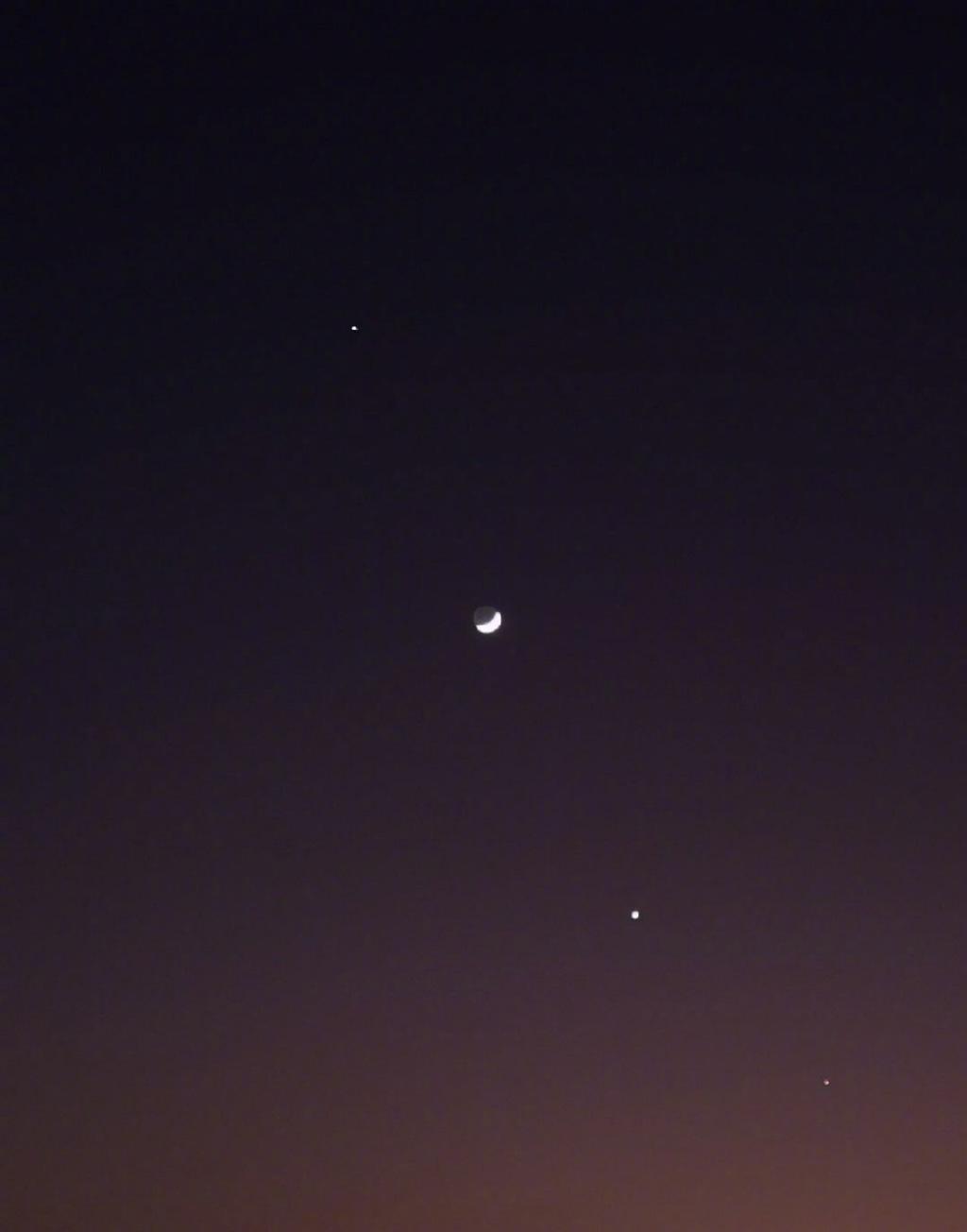 昨晚百年难现的天文奇观——四星连珠你们看到了吗? liuliushe.net六六社 第5张