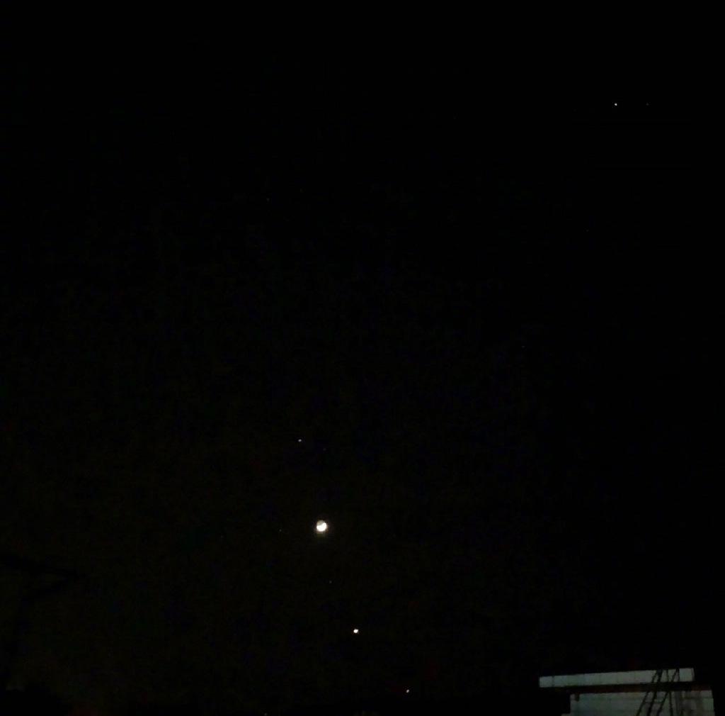 昨晚百年难现的天文奇观——四星连珠你们看到了吗? liuliushe.net六六社 第12张