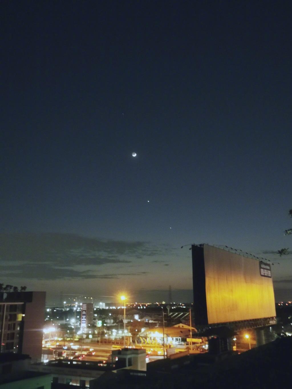 昨晚百年难现的天文奇观——四星连珠你们看到了吗? liuliushe.net六六社 第14张