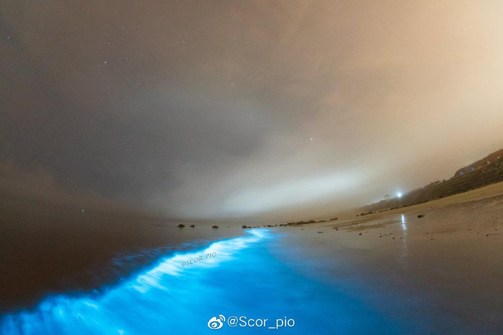 蓝眼泪+开波层云,神奇的3大最美生物发光现象+世界10大奇云之一 liuliushe.net六六社 第3张