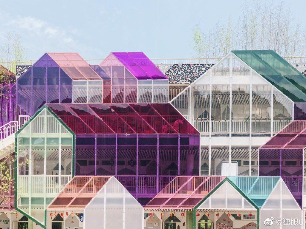 这居然是一所杭州千岛湖的乡村小学,你敢信? 涨姿势 热图5