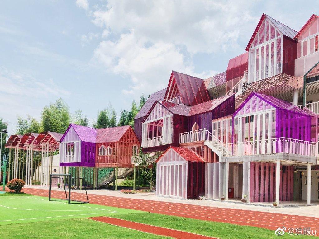 这居然是一所杭州千岛湖的乡村小学,你敢信? 涨姿势 热图3