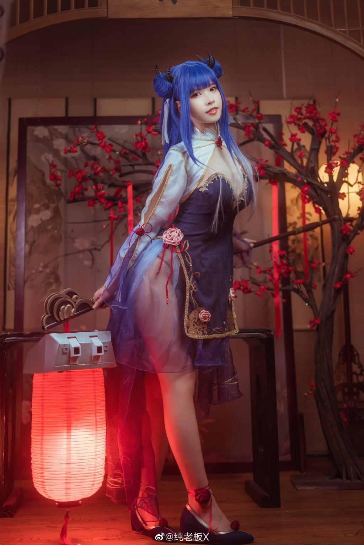 [COS]碧蓝航线  cosplay伊吹 @O纯老板X COSPLAY-第12张