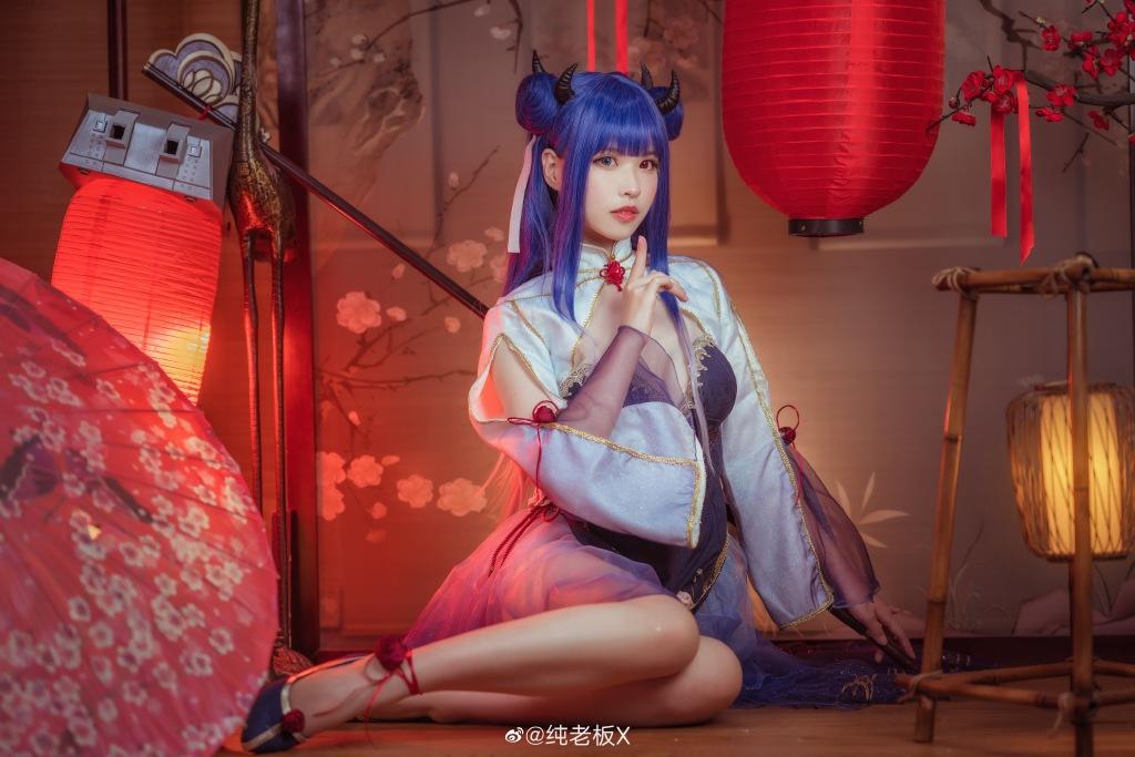 [COS]碧蓝航线  cosplay伊吹 @O纯老板X COSPLAY-第9张