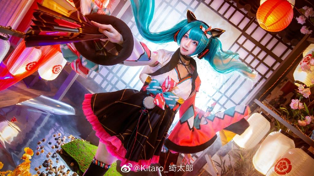 [COS]cosplay 初音未来 miku cos正片 @Kitaro_绮太郎 COSPLAY-第9张