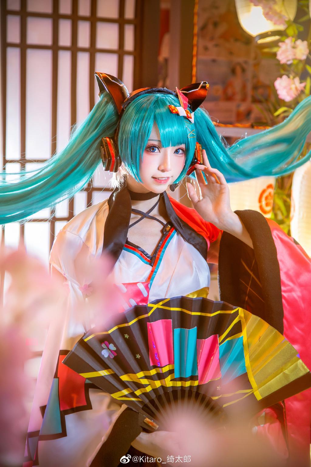 [COS]cosplay 初音未来 miku cos正片 @Kitaro_绮太郎 COSPLAY-第10张