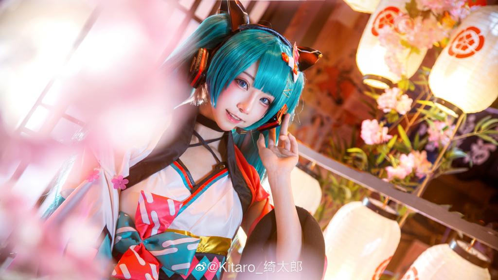 [COS]cosplay 初音未来 miku cos正片 @Kitaro_绮太郎 COSPLAY-第2张