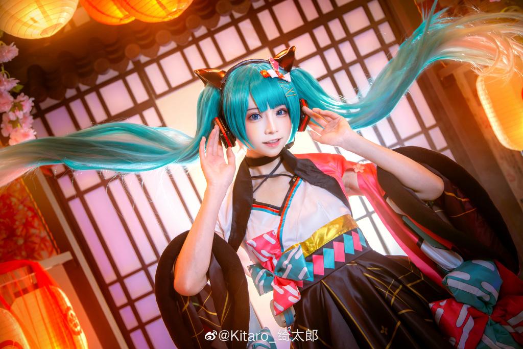 [COS]cosplay 初音未来 miku cos正片 @Kitaro_绮太郎 COSPLAY-第7张