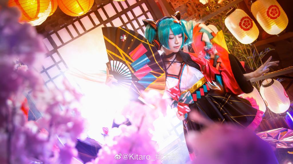 [COS]cosplay 初音未来 miku cos正片 @Kitaro_绮太郎 COSPLAY-第6张