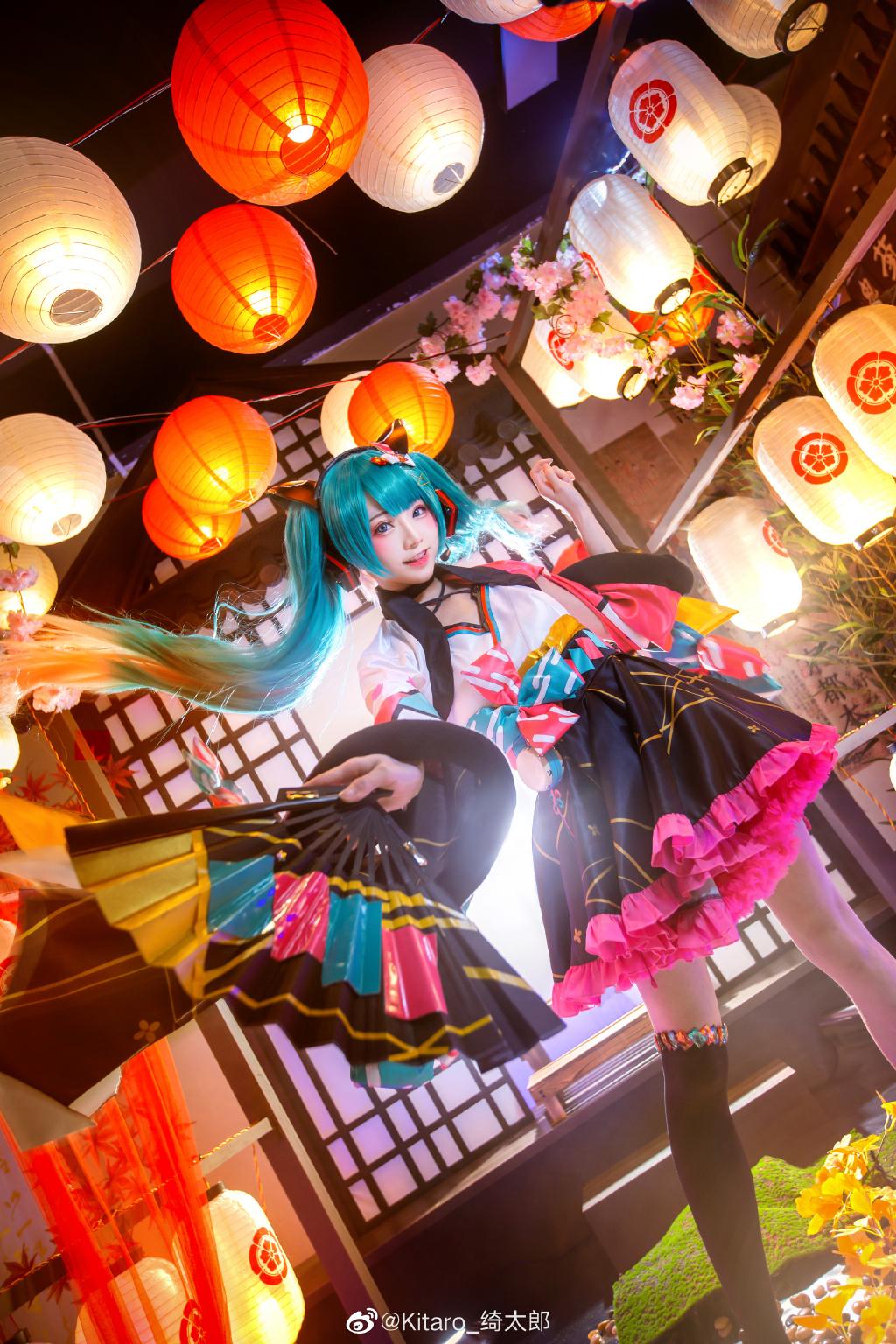 [COS]cosplay 初音未来 miku cos正片 @Kitaro_绮太郎 COSPLAY-第5张