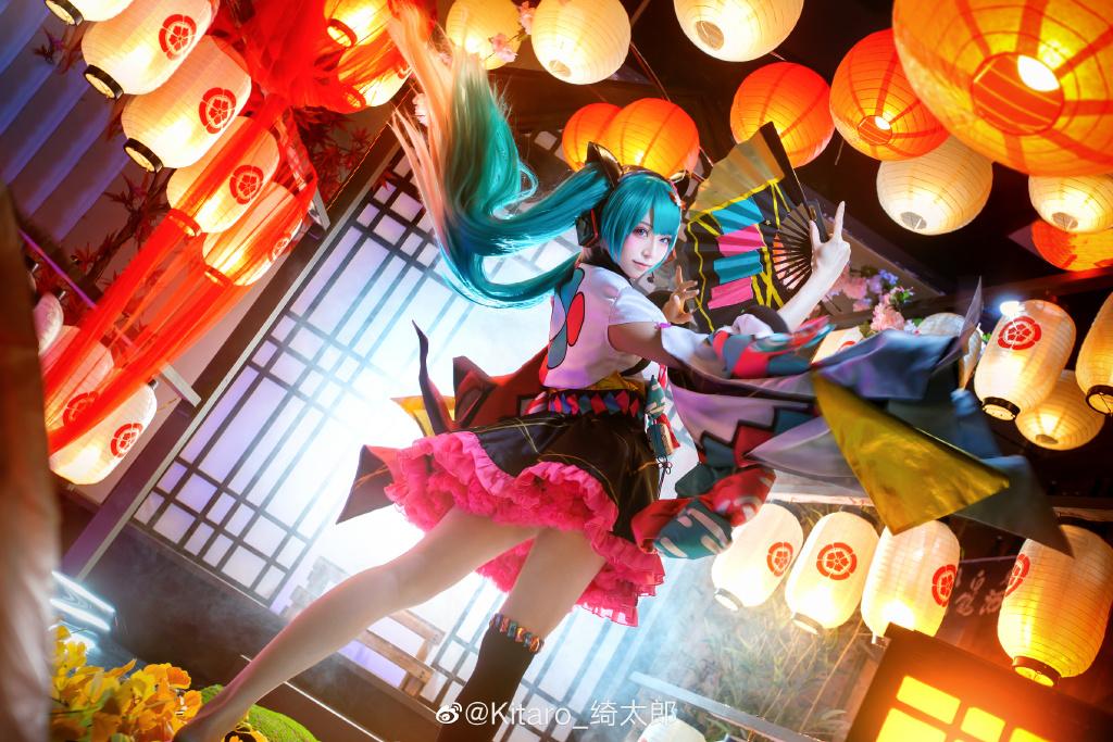 [COS]cosplay 初音未来 miku cos正片 @Kitaro_绮太郎 COSPLAY-第3张