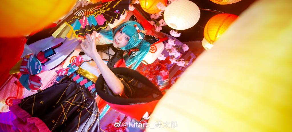 [COS]cosplay 初音未来 miku cos正片 @Kitaro_绮太郎 COSPLAY-第4张