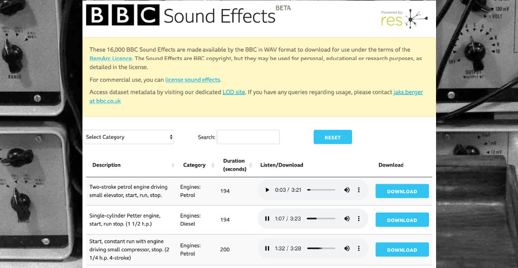 16000个BBC世界级音效素材免费用,六六君如获至宝 liuliushe.net六六社 第1张