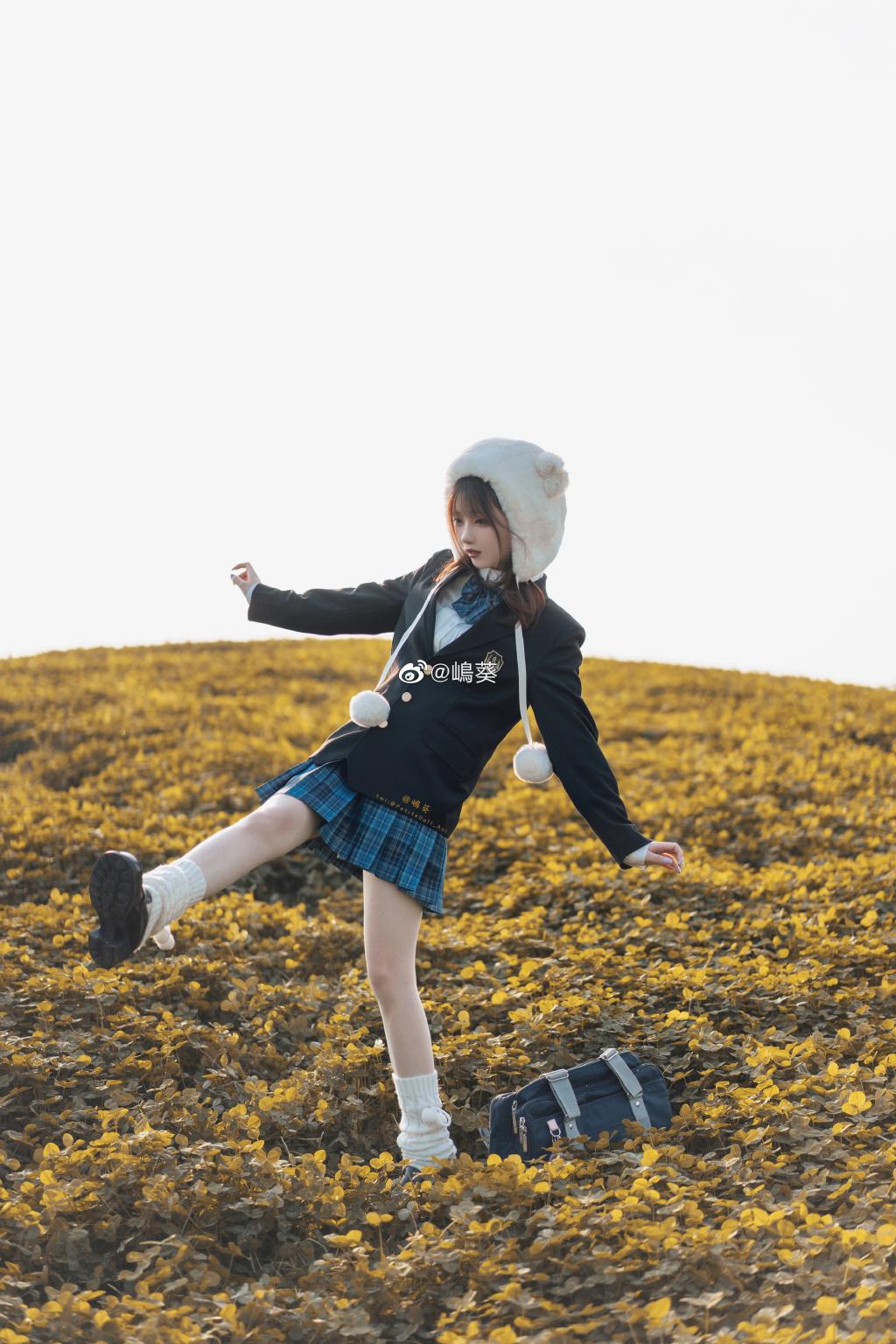 今日妹子图 20200520 圆脸二次元cosplay妹子 @嶋葵 liuliushe.net六六社 第6张