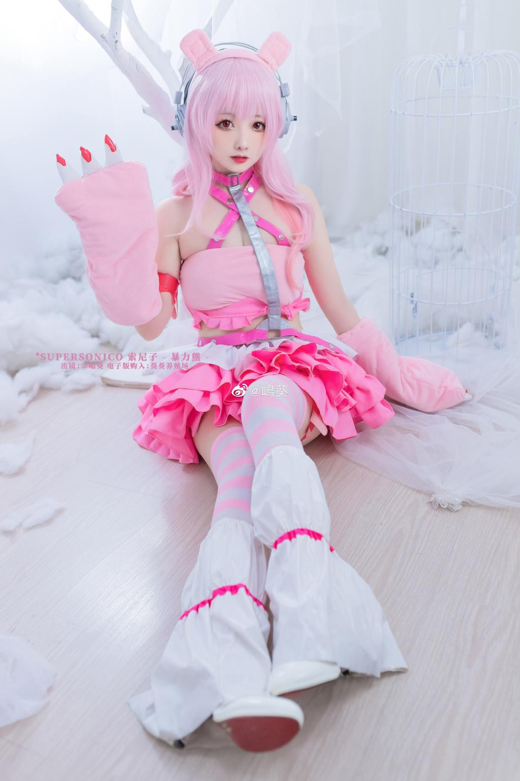 今日妹子图 20200520 圆脸二次元cosplay妹子 @嶋葵 liuliushe.net六六社 第3张