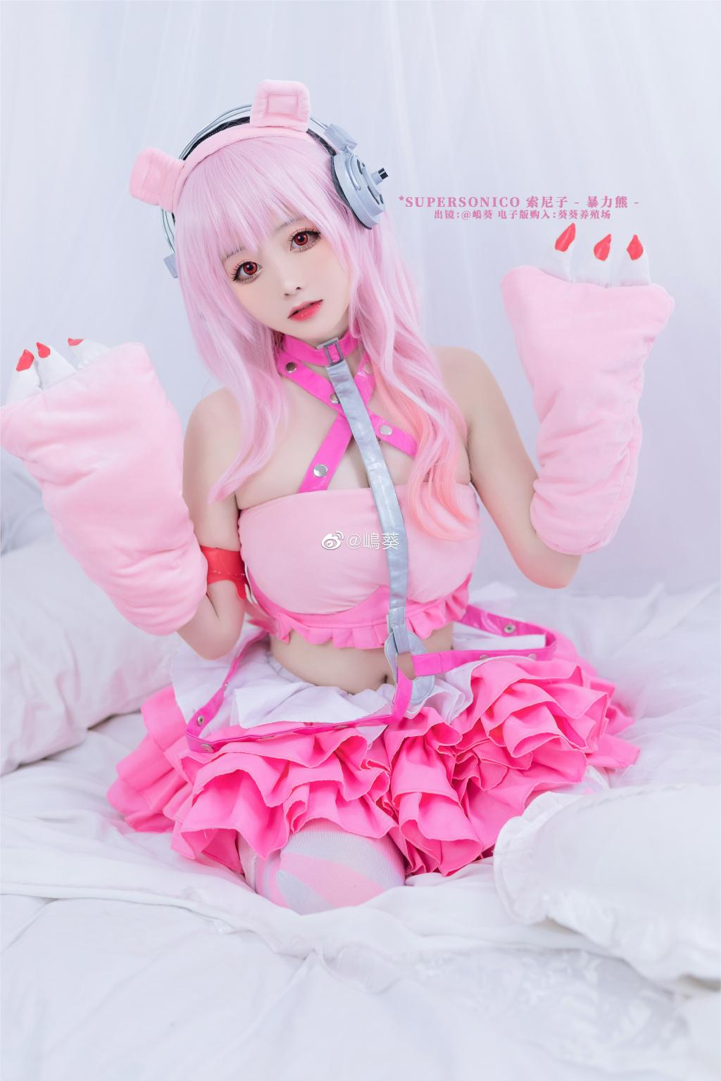 今日妹子图 20200520 圆脸二次元cosplay妹子 @嶋葵 liuliushe.net六六社 第4张