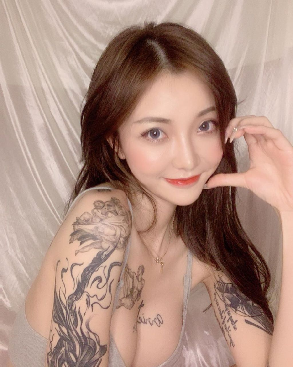 ins:badbadkira_好美的纹身!