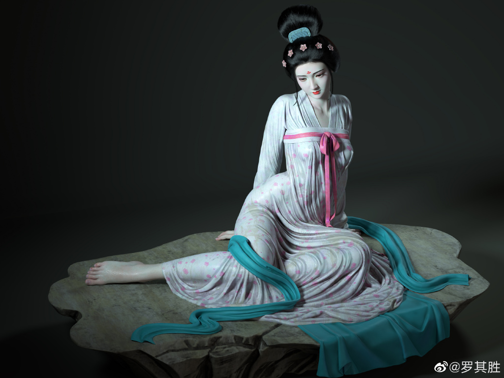杨贵妃在马嵬坡前的哀伤 涨姿势 第3张