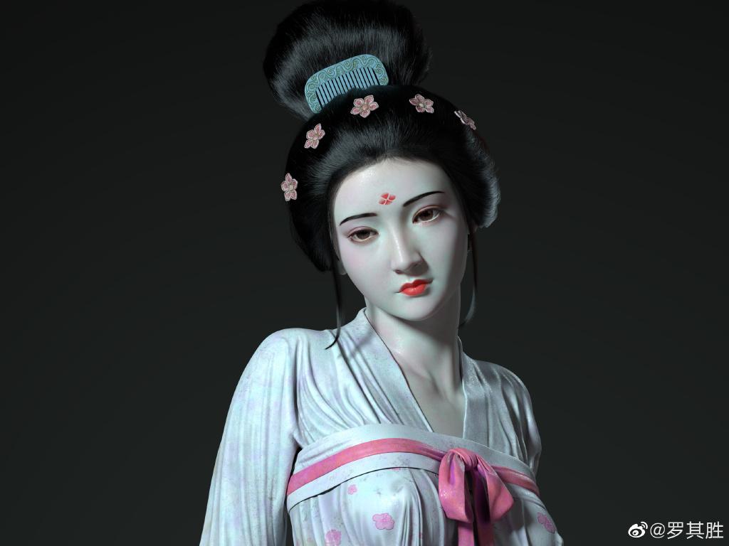 杨贵妃在马嵬坡前的哀伤 涨姿势 第4张