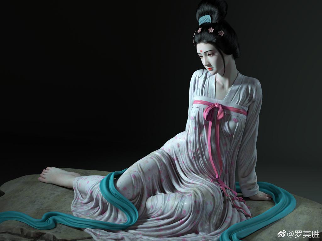 杨贵妃在马嵬坡前的哀伤 涨姿势 第5张