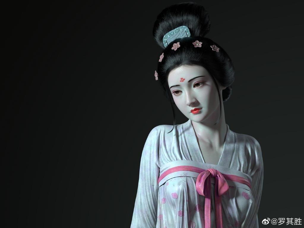 杨贵妃在马嵬坡前的哀伤 涨姿势 第6张