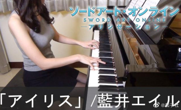钢琴可以促进发育?B站up主靠弹钢琴成功丰胸捞金