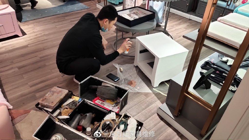 小县城创业做家具美容修复有前途吗?-家具美容网