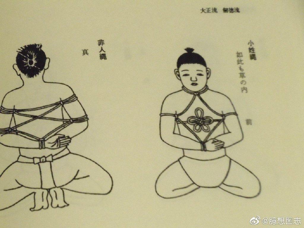 日式绳缚的起源 日本古武术之一:捕绳术 sihaiba.com四海吧 第5张