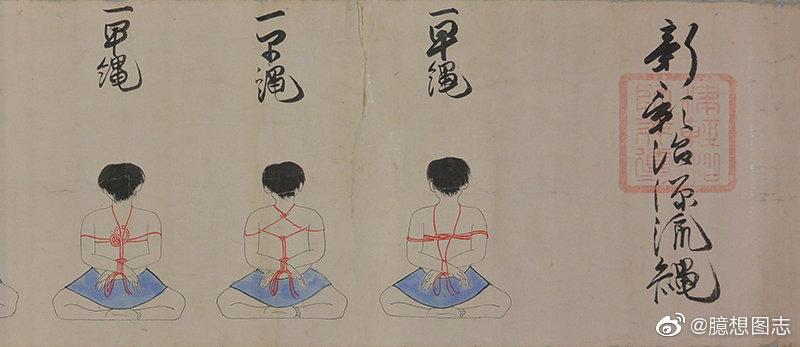 日式绳缚的起源 日本古武术之一:捕绳术 liuliushe.net六六社 第1张