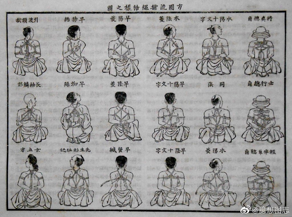 日式绳缚的起源 日本古武术之一:捕绳术 sihaiba.com四海吧 第2张