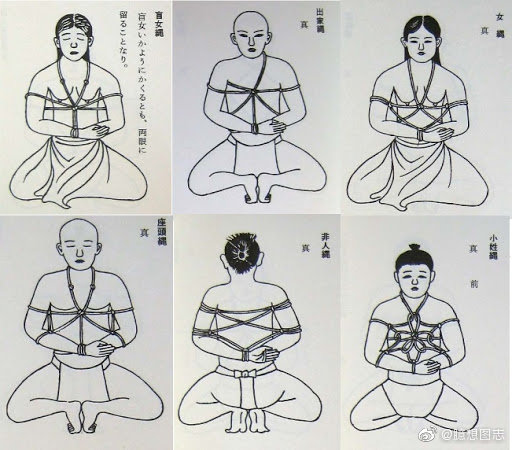 日式绳缚的起源 日本古武术之一:捕绳术 sihaiba.com四海吧 第10张