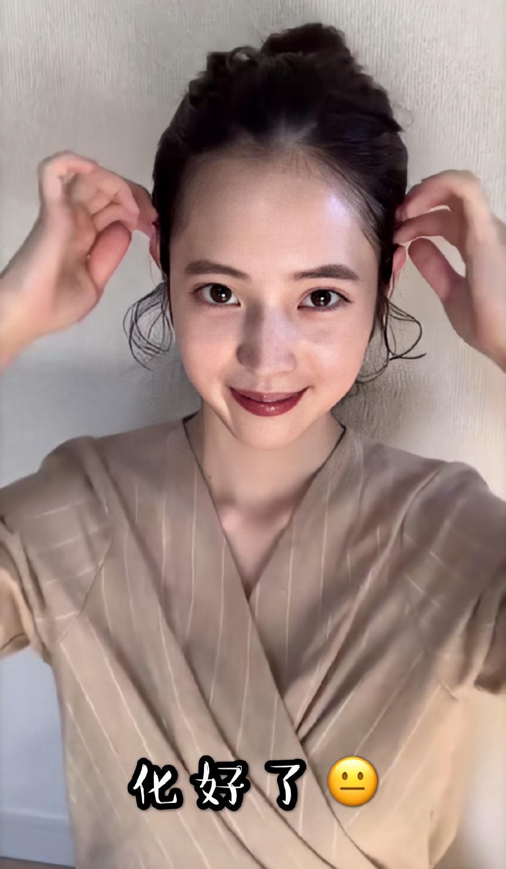 藤田素颜和化妆有啥区别????我落泪 涨姿势 第3张