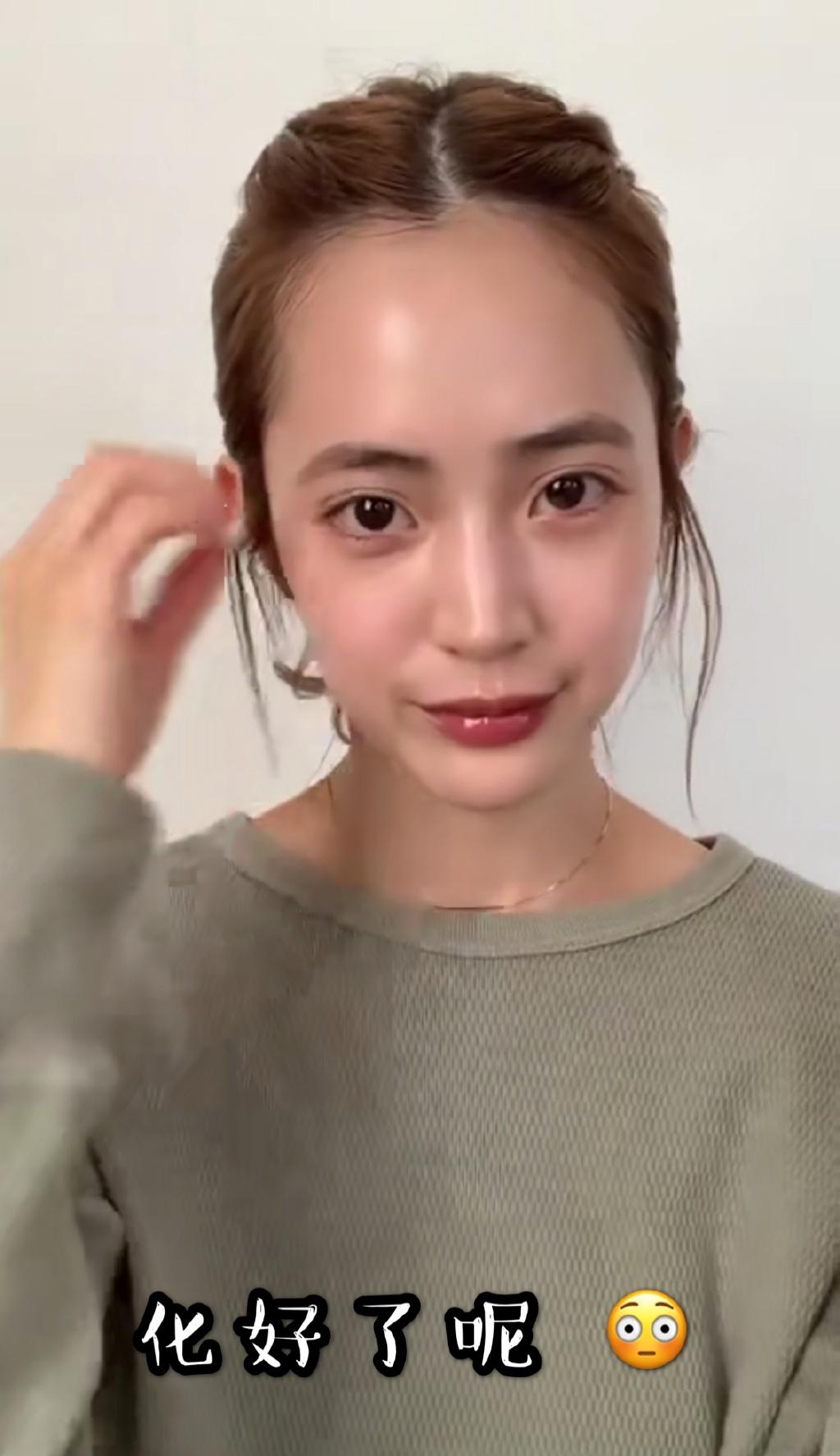 藤田素颜和化妆有啥区别????我落泪 涨姿势 第6张