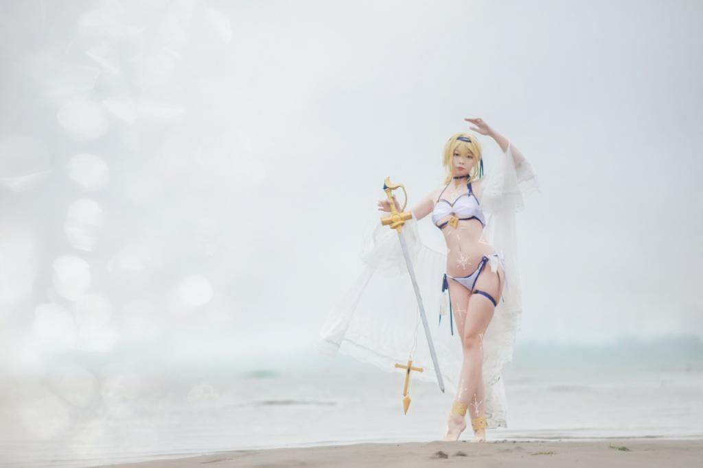 [COS]碧蓝航线·海之圣女 @佐小红琪 COSPLAY-第3张