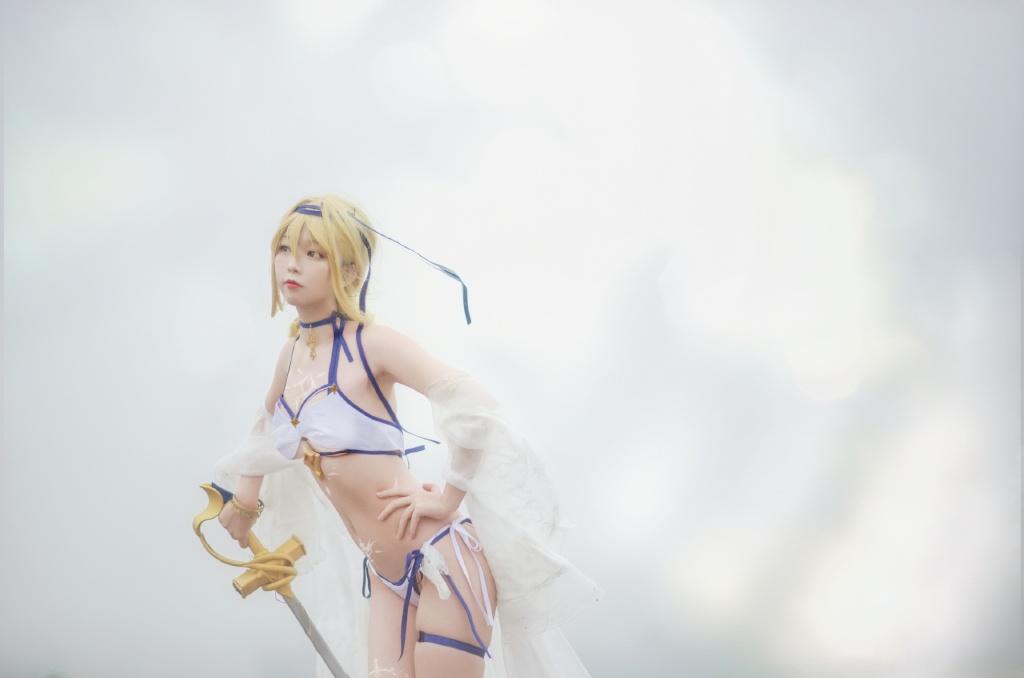 [COS]碧蓝航线·海之圣女 @佐小红琪 COSPLAY-第6张