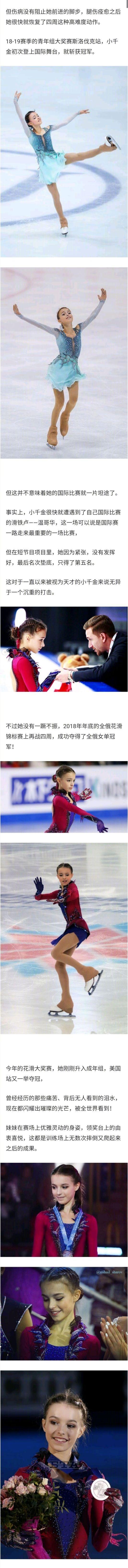 15岁俄罗斯花滑运动员Anna Shcherbakova 涨姿势 第6张