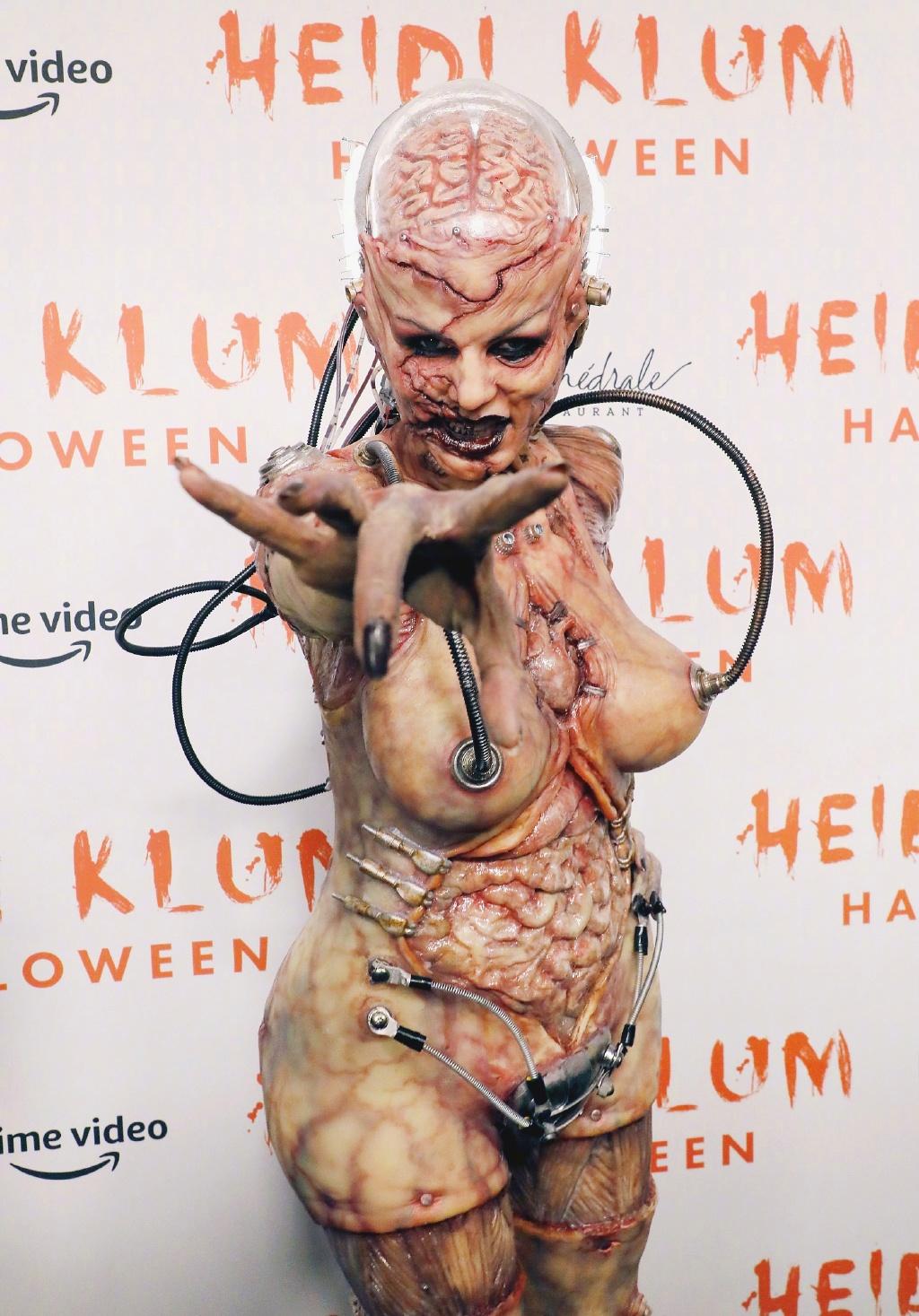 万圣节最吓人的鬼 当属海妈Heidi Klum! 涨姿势 第10张