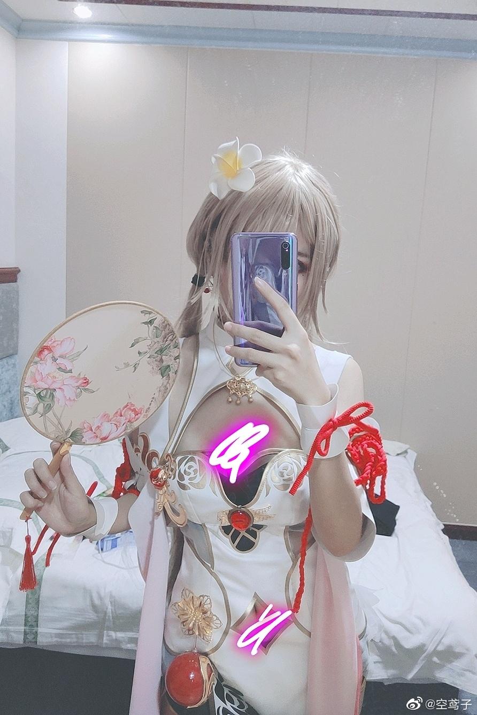 今日妹子图 20200513 碧蓝航线cosplay吾妻 @空鸢子 liuliushe.net六六社 第34张