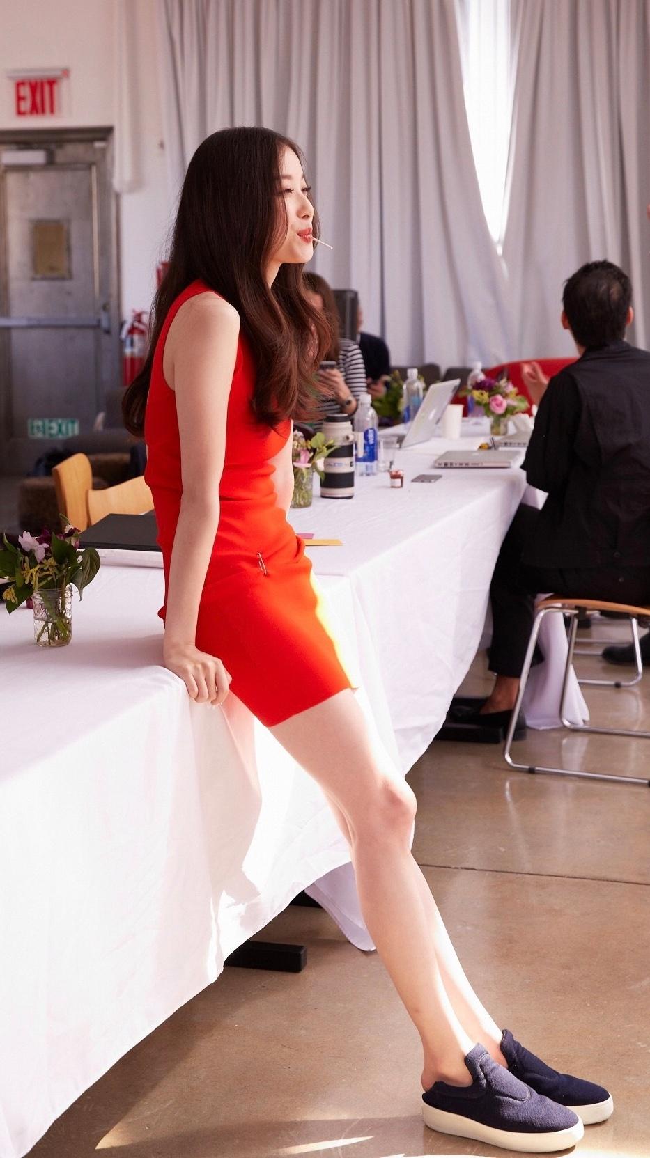微博#女明星腿精大赛#,跟看买家秀一起来看看大长腿15